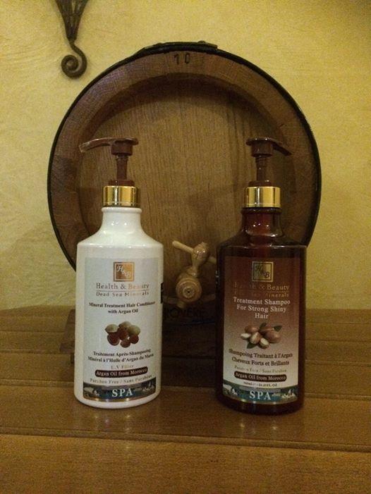 Haarpflege mit dem Arganöl Shampoo und dem Arganöl Conditioner von H&B